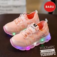 Promo Sepatu Anak Perempuan Trendy Sepatu LED Anak