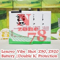Baterai Lenovo Vibe Shot Z90 BL246 Double IC Protection