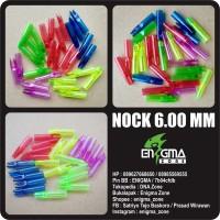 Nock 6.00 mm, Plastic, Arrow, Panah, Panahan, Archery, EnigmaZone