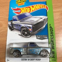 HOTWHEELS HOT WHEELS CUSTOM 69 CHEVY PICKUP