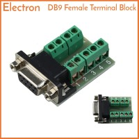 DB9 Female to Terminal Block Header Adapter RS-232 RS232