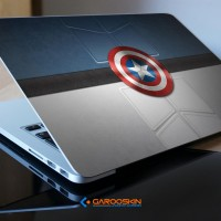 Garskin Notebook Lenovo 10 Inch Captain America Custom (Luar Saja)