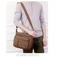 Harga shoulder canvas bag code logan tas import kanvas | antitipu.com