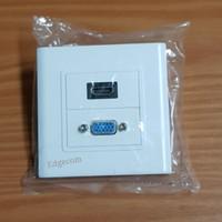 Faceplate HDMI + VGA