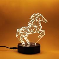 Marley - Animal Series Fiolight Lampu Tidur Akrilik Dekorasi