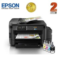 Epson Printer All in One A3 L1455 - Hitam (Print, Scan, Copy, Fax)