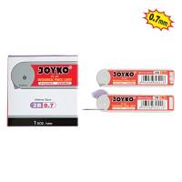 Pencil Lead / Isi Pensil Mekanik Joyko PL-07 / 2B / 0.7 mm