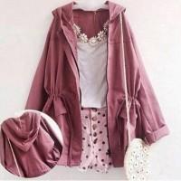 Harga sumber fashion jaket parka 4 warna konveksi | Hargalu.com