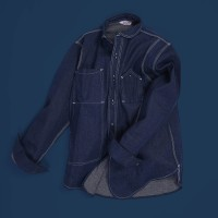 Oldblue Work Shirt Type VI - 11 Oz Rainbow Neps Denim 2019