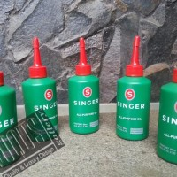 VQS093 PROMO Minyak Pelumas SINGER all purpose OIL