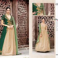 Gulzar Anarkali 06/Maxi Dress Gamis Pesta India/Gaun Pengantin Import