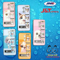 Softcase Motif Animal kucing dan Anjing Hp Samsung Galaxy J2 Pro 2018