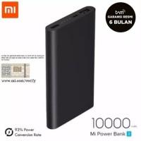 Jual New Version! XIAOMI Slim Powerbank 2 10000mAh Fast Charging Murah