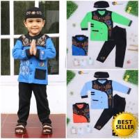[SALE] Baju Koko Anak uk. 3-4 Tahun / Muslim Setelan Laki Pendek