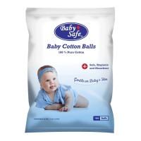 Baby Safe Baby Cotton Balls (Kapas Bulat)
