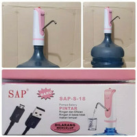 Water pump / Pompa galon charger SAP -S18/usb