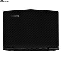 9Skin - Skin for Lenovo Y520 Legion - Vinyl Black Carbon (FRONT)