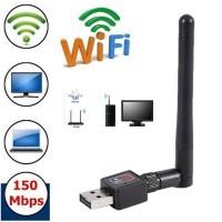USB WiFi Adaptor 600Mbps Antena - Wifi Adaptor Komputer Wifi Komputer