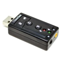 USB SOUNDCARD 7.1 PC NOTEBOOK LAPTOP KOMPUTER MACBOOK BM800 SOUND CARD