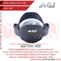 AOI UWL-400 0,5X Underwater Wide Angle Lens (M52 Thread)