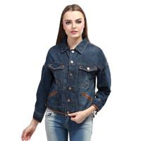 Distro Asli - Jaket Jeans Levis wanita Navy - Jaket Cewek Fic murah