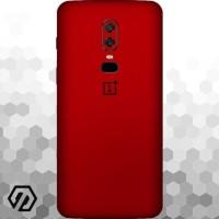 [EXACOAT] OnePlus 6 3M Skin / Garskin - True Colors (Red, White & etc)