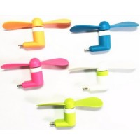 Lightning Port 8 Pin Mini Kipas Angin Portable USB Fan for iPhone 5 6