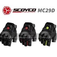 Jual Sarung Tangan Motor - SCOYCO MC29D (Half Finger) - Murah Keren Aman Murah