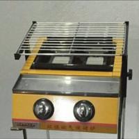 Kompor Panggangan Gas 2 Tungku (pakai gosend/gojek)