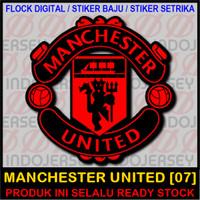 Jual Patch Flock Setrika Logo Inggris Epl Manchester United 07 Flock Standard Jakarta Selatan Indojersey Tokopedia