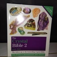 Buku Jenis-jenis Kristal dan manfaatnya (the crystal bible 2)