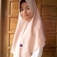 Jilbab Kerudung Khimar Simple Pet Antem