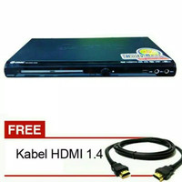 DVD PLAYER GMC HDMI BM-088B + KABEL HDMI