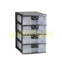 Pressa Container A4 SS-4 PR-34 Lion Star Laci Plastik A4 Susun 4