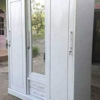 lemari pakaian sliding 3 pintu