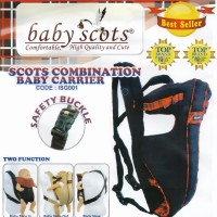 Gendongan Bayi Baby Scots – Scots Combination Baby Carrier