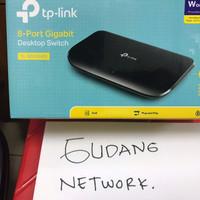 TP-LINK TL-SG1008D 8-Port Gigabit Switch Desktop / Gigabit 8 Port