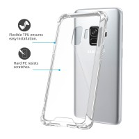 Soft Case Anti crack Samsung Galaxy A6 Plus 2018 Back Cover Casing