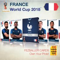 Kartu bola Fezballer Cards edisi France Perancis World Cup 2018