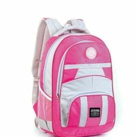 Tas sekolah anak remaja wanita-pink terbaru tas smp kuliah ransel az