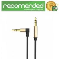 Vention Kabel Audio AUX 3.5mm L Jack - 50 CM - Hitam