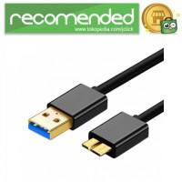 Kabel Data USB Micro B High Speed 1.2 Meter - 180 CM - Hitam