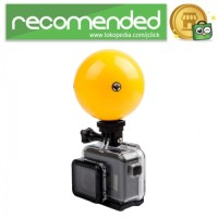 Telesin Floating Ball Bobber 1 Ball for GoPro Xiaomi Yi - Kuning