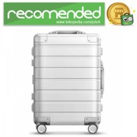 Xiaomi 90 Points Metal Suitcase Koper Travel 20 inches - Silver