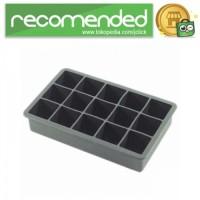 Cetakan Es Batu Model Cube 15 Hole - Hitam