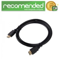 High Speed HDMI to HDMI Cable OD7.3mm Gold Plated 4K - 10m - Hitam