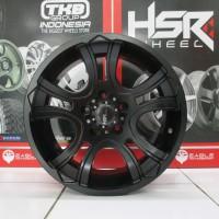 Velg Mobil Ring 15 HSR Wheel JT15 Lebar 8 Baut 5 Pelek Model Offroad