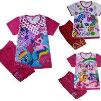 Jual Baju Kaos Atasan T-Shirt Setelan Anak Murah Little Pony LP112017 Murah