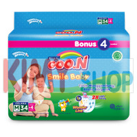 Harga popok celana bayi goon smile baby pants m 34 | antitipu.com