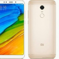 HP XIAOMI REDMI 5 PLUS (XIOMI MI RAM 4/64 64GB) GOLD/BLACK/EMAS HITAM